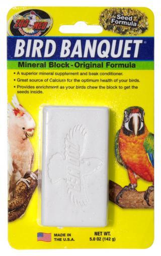Zoomed Bird Banquet Minerální blok Original L
