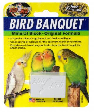 Zoomed Bird Banquet minerální semínka S