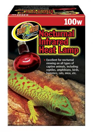 Zoomed infra lampa Red 100W