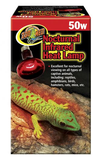 Zoomed infra lampa Red 50W