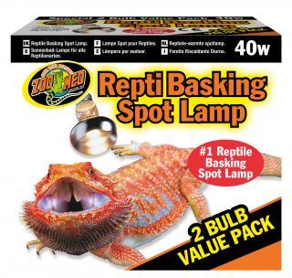 Zoomed výhřevní lampa Basking Spot 2ks 40W