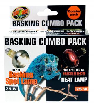 Zoomed vyhřívací žárovka Basking Combo Pack