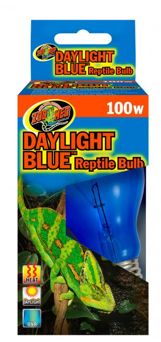 Zoomed žárovka Daylight Blue 100W