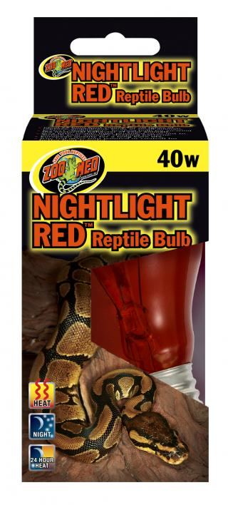 Zoomed žárovka Nightlight Red 40W