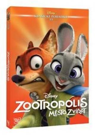 Zootropolis: Město zvířat - Edice Disney klasické pohádky - DVD