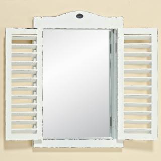 Zrcadlo okno, bílé