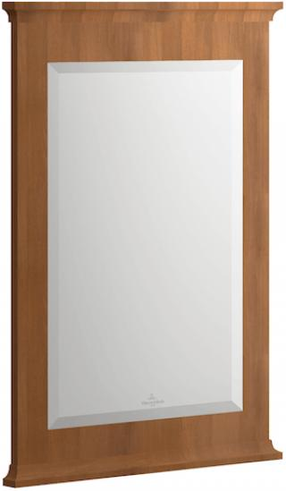 Zrcadlo Villeroy & Boch Hommage 56x74 cm javor 85650000 dřevodekor javor