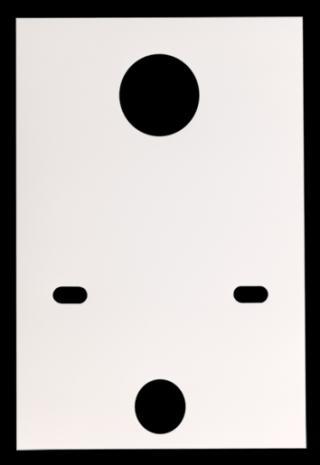 Zvukoizolační vložka na stěnu k pisoáru Multi VLOZKAPIS