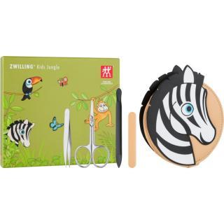 Zwilling Kids Jungle manikúrní set pro děti Zebra 4 ks 4 ks